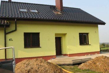 Izolacja Pionowa na materiałach ICOPAL drenaż Lyski koło Rybnika