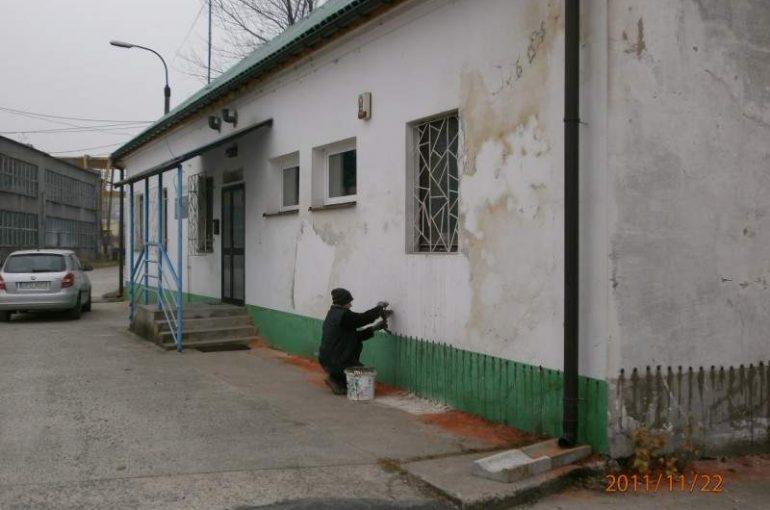 Prace dla Górażdze w Czechowicach Dziedzicach budynku biura