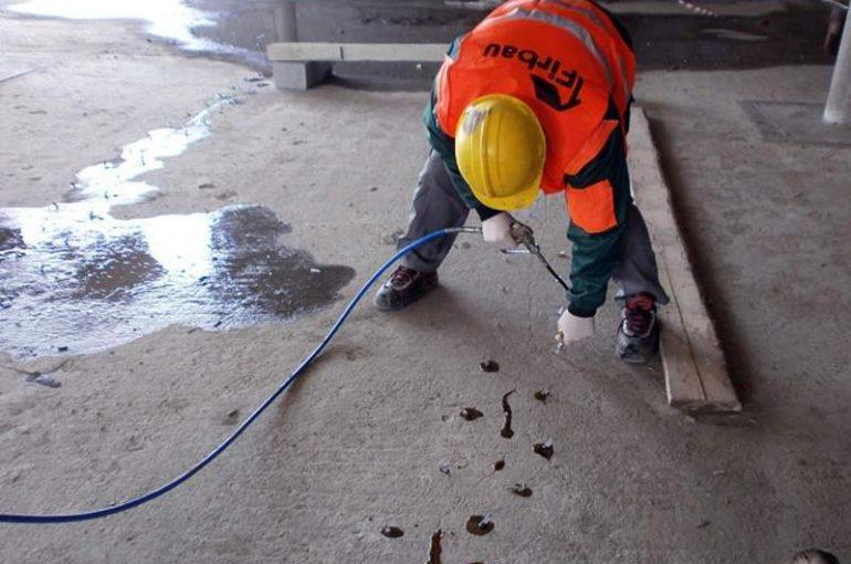 Naprawa Betonu oraz Siłowe klejenie Rys Katowice