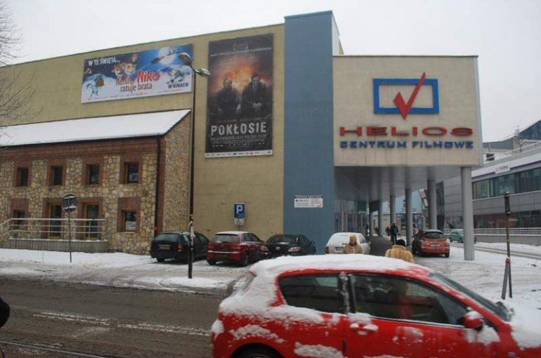Kino HELIOS Sosnowiec Izolacja pozioma metodą nisko ciśnieniową oraz iniekcją krystaliczną