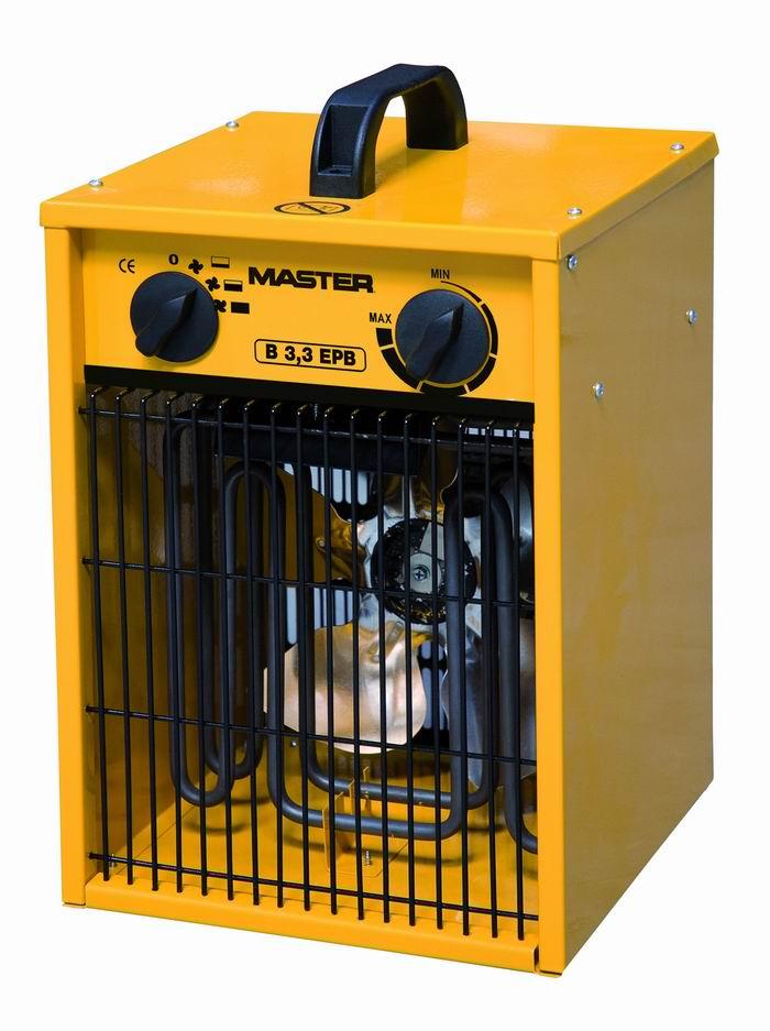 Nagrzewnice elektryczne Master B 3,3 EPB