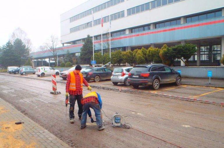 Iniekcja ciśnieniowa zaczynami cementowymi Bieruń