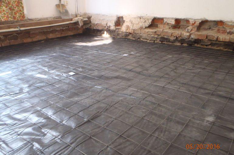 Izolacja pozioma podłogi