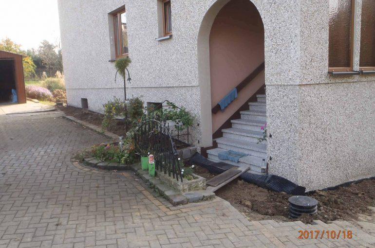 Czernica Drenaż izolacja pionowa ścian fundamentów